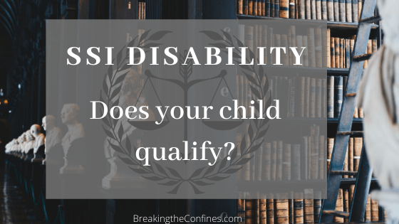 ssi disability - does your child qualify?